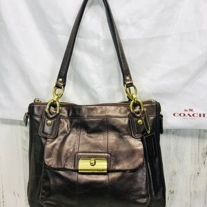 Coach Kristin Leather shoulder bag